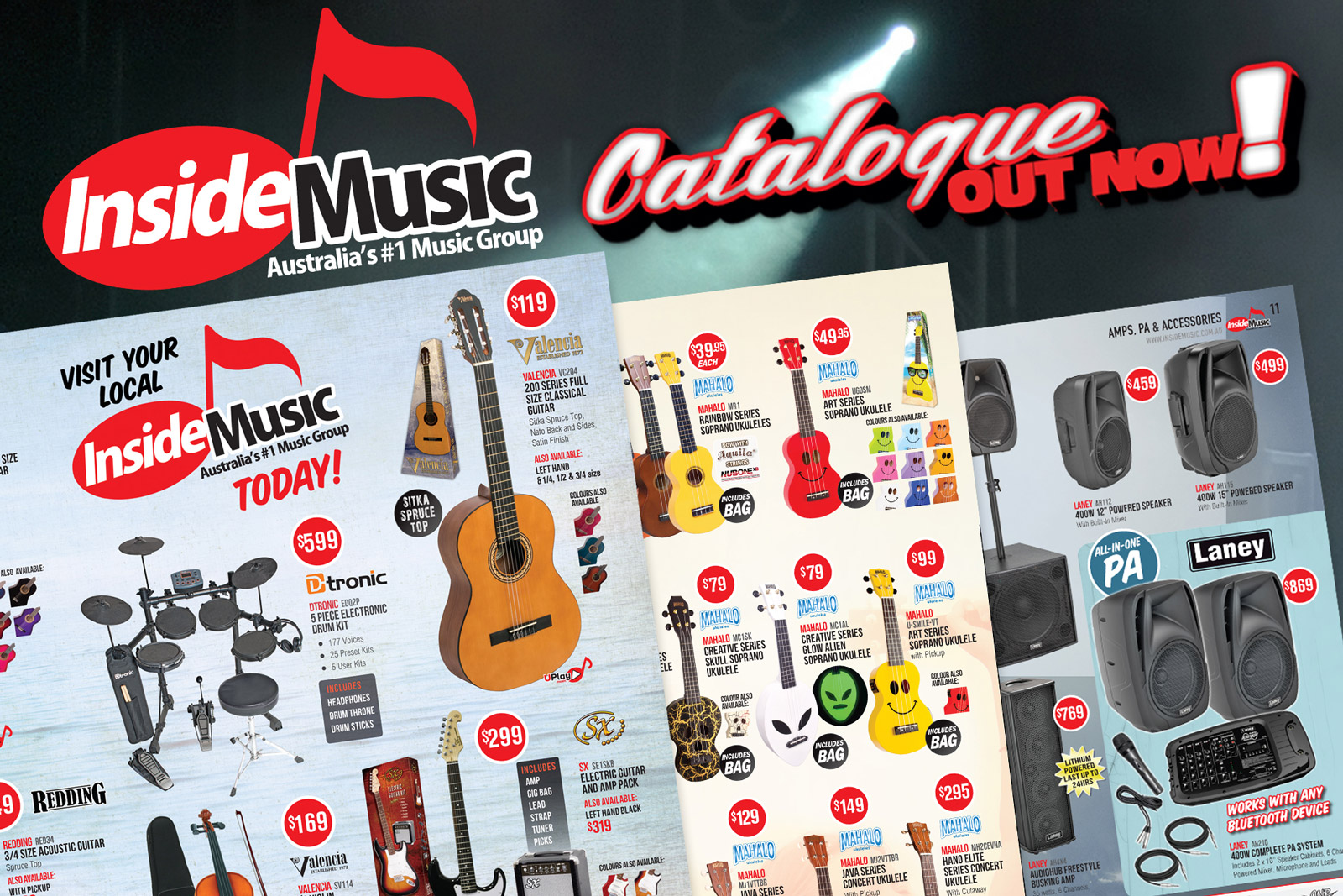 Inside Music Catalogue